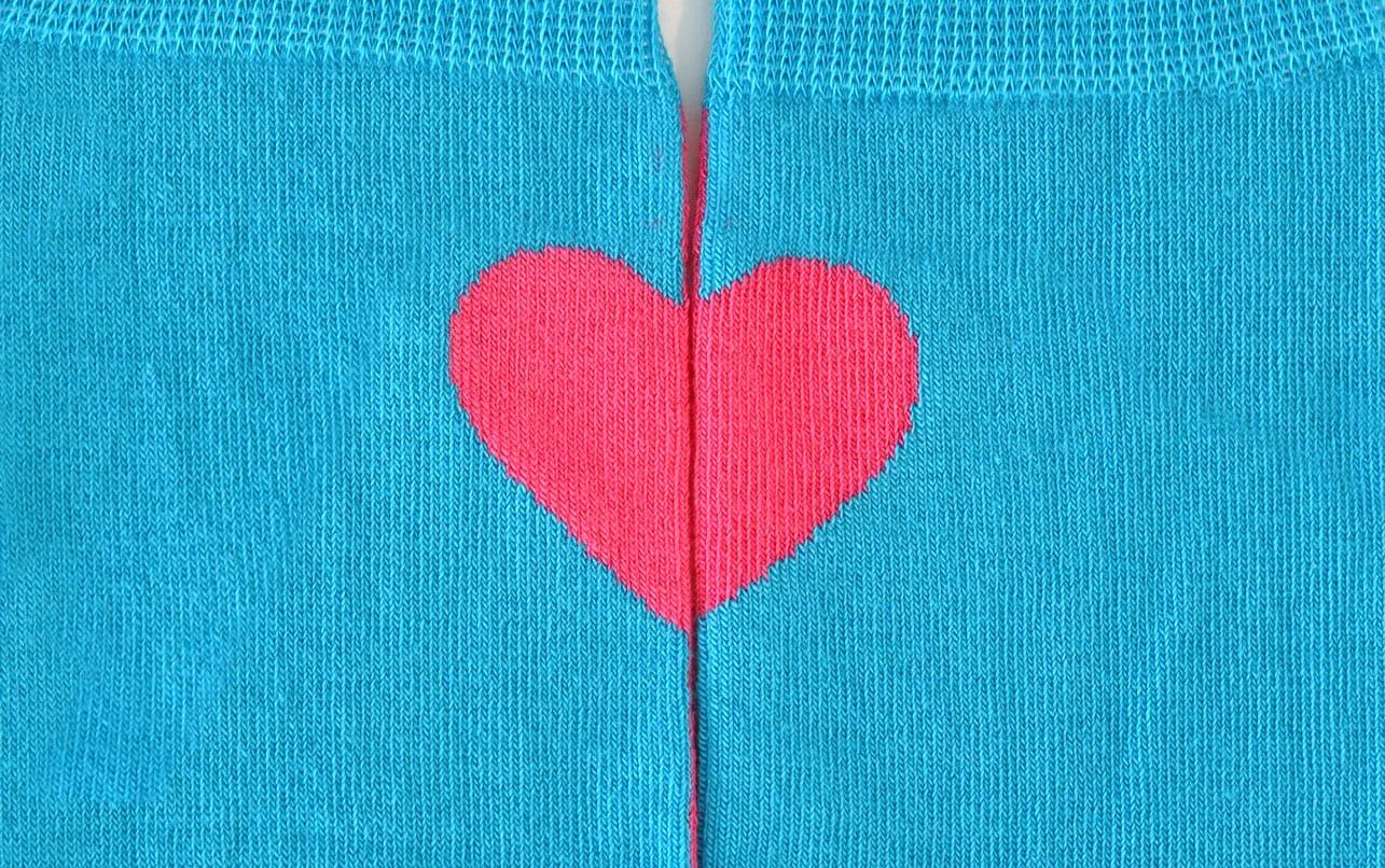 svadobne ponozky srdce